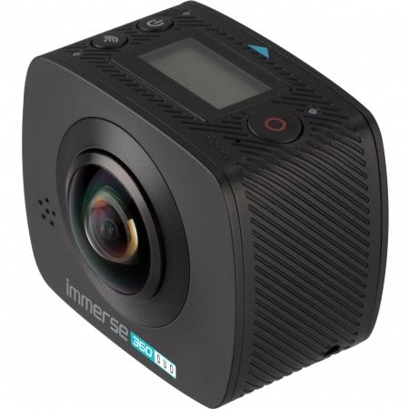 KitVision Immerse 360 Duo Wireless - Camera de actiune, Negru