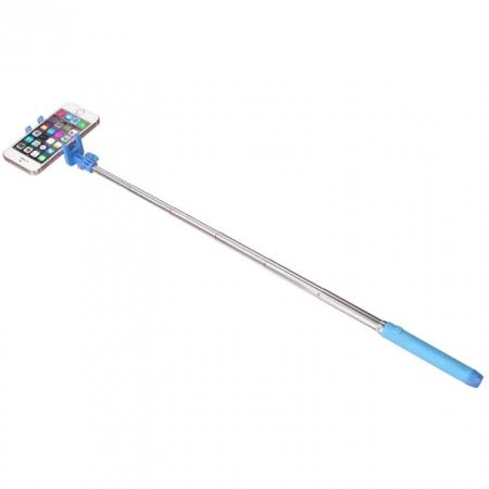 KitVision Pocket KVPKBTSSBL - Selfie Stick cu bluetooth - albastru