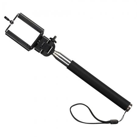 KitVision Splash - Selfie Stick extensibil cu suport de telefon - Negru