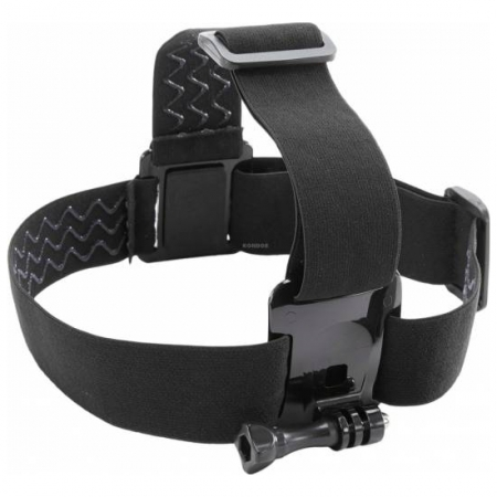 Kitvision Universal Head Strap Mount - Set accesorii montare pe cap compatibil cu GoPro, KitVision RS125021970-2