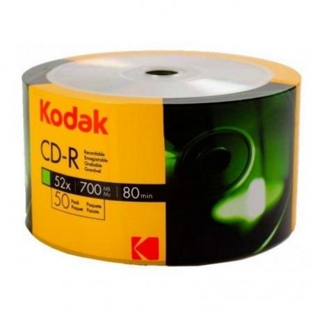 Kodak CD-R, 700mb, 52X printabil, 50 bucati