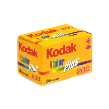 Kodak ColorPlus 200 - film negativ color ingust (ISO 200, 135-36)