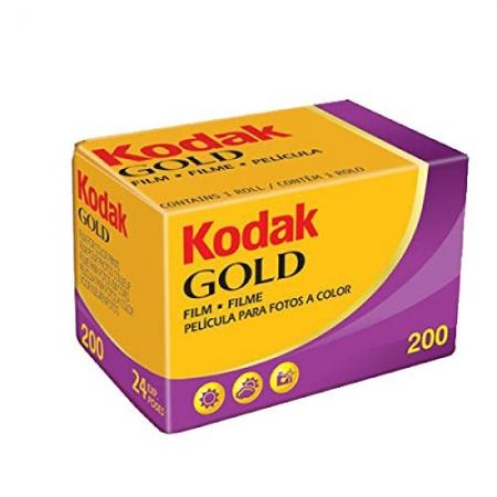 Kodak GOLD 200 135/24 - Film foto, 24 cadre, ISO 200