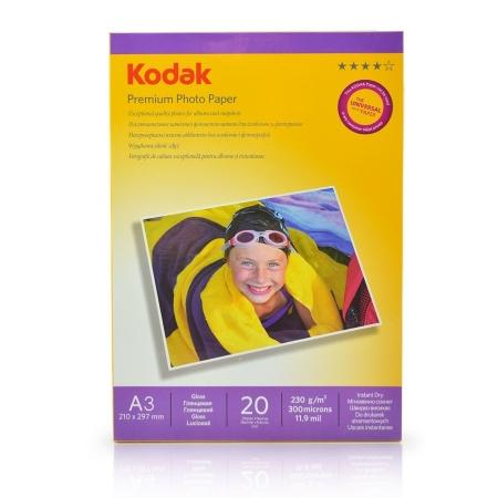 Kodak Glossy hartie foto A3 20coli 230gr