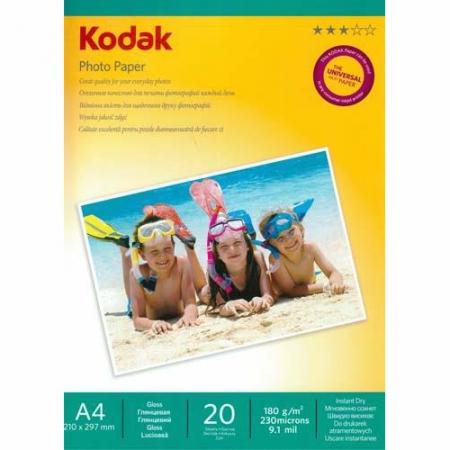 Kodak Glossy hartie foto A4 20coli 180gr - RS125019177