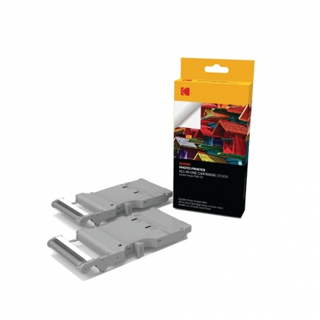 Kodak PMC-20 - Cartus si Hartie pentru Photo Printer Mini, 54x86 mm, 20 buc.