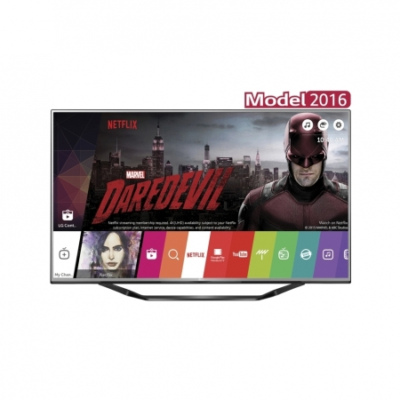 LG 55UH6257 - Televizor LED 139 cm, Ultra HD 4K, Smart TV, webOS 3.0, WiFi, CI+