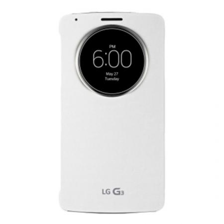 LG Circle Window - husa agenda pentru G3 S - alb