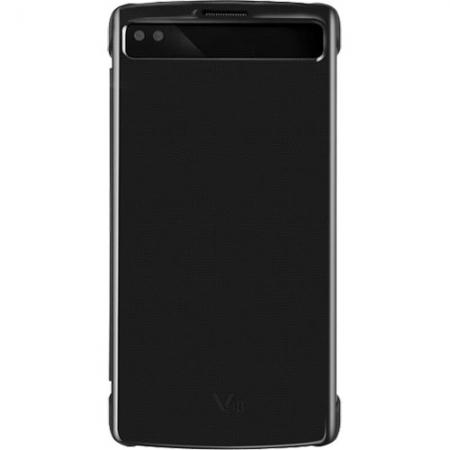 LG Quick Cover View - Husa Agenda pentru LG V10, Negru