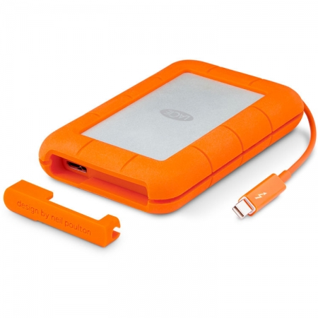 LaCie - Rugged Thunderbolt 2TB & USB 3.0