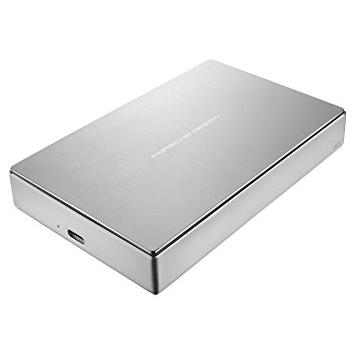 LaCie Porsche Design Mobile Drive, 5TB , USB 3.1