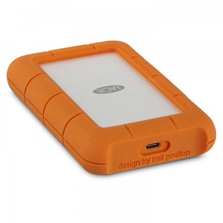 LaCie Rugged USB-C - HDD extern, 2.5