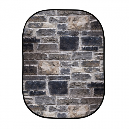 Lastolite LB5711 Urban Collapsible Background 1.5x2.1m Red Brick/Gray Stone