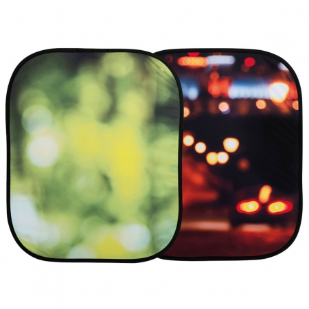 Lastolite Out of Focus Summer Foliage/City Lights - fundal reversibil 1.2 x 1.5m