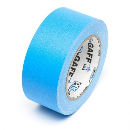LeMark Fluo - Banda adeziva fluorescenta 48mm - albastru