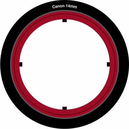 Lee Filters SW150 - Adaptor pt. Canon 14mm
