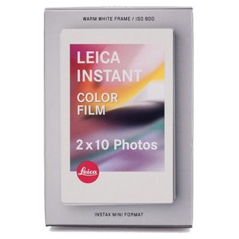 Leica SOFORT Film Color, pachet dublu