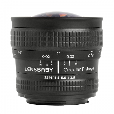 Lensbaby 5.8mm Circular Fisheye - pentru Canon