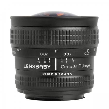 Lensbaby 5.8mm Circular Fisheye - pentru Nikon