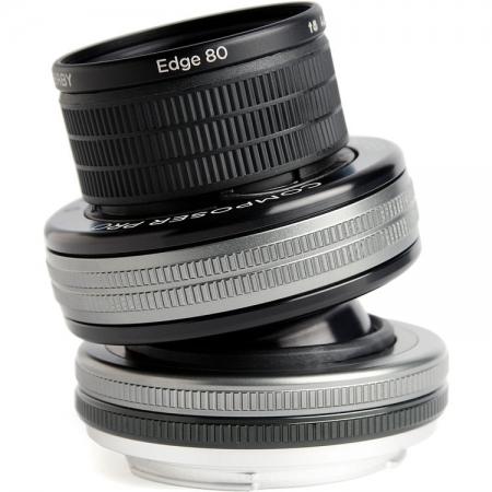 Lensbaby Composer Pro II Edge 80 pentru Nikon