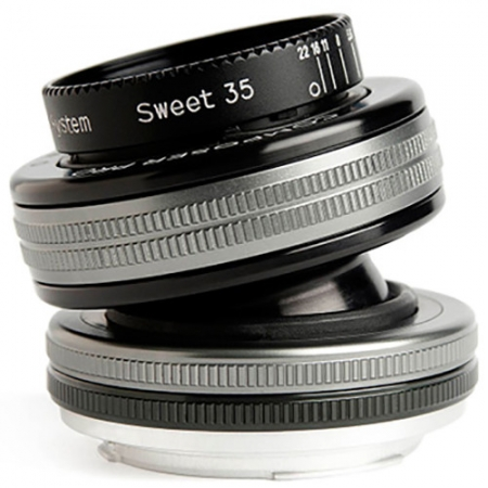 Lensbaby Composer Pro II kit Sweet 35 montura Fuji X