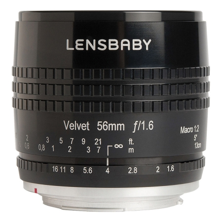 Lensbaby Velvet 56mm f/1.6 - montura Nikon F