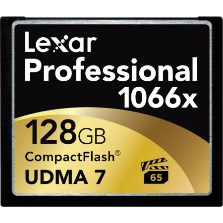 Lexar Professional CF Card 128GB 1066x UDMA7