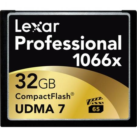 Lexar Professional CF Card 32GB 1066x UDMA7