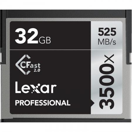 Lexar Professional 3500x CFast 2.0 - card 32GB