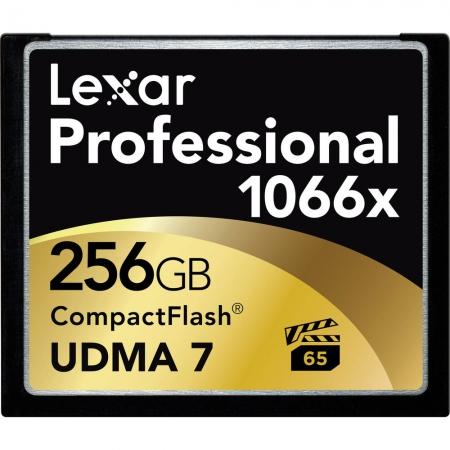 Lexar Professional CF Card 256GB 1066x UDMA7