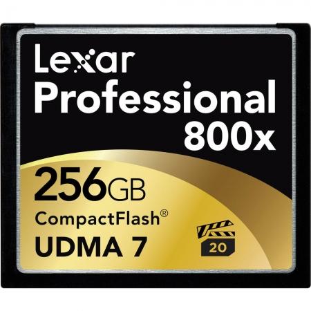 Lexar Professional CF Card 256GB 800x UDMA 7