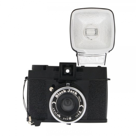 Lomography Diana F + Package Black Jack