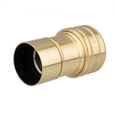 Lomography Petzval Daguerreotype Achromat 64mm f2.9 Art - Nikon F, Auriu
