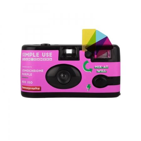 Lomography Simple Use Camera, 400/36 LomoChrome Purple