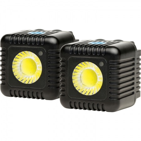 Lume Cube - set 2 lampi LED 150LUX, rezistente la apa, black