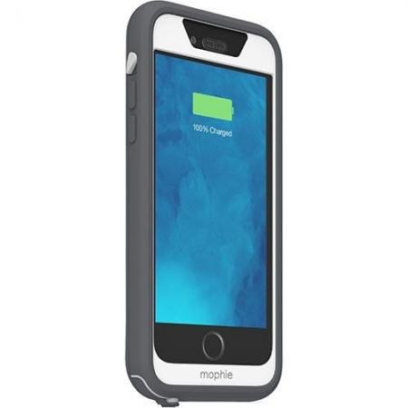 Mophie Juice Pack H2Pro - husa waterproof cu acumulator 2750mAh iPhone 6/6s - gri