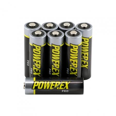 Maha Powerex PRO Set 8 Acumulatori R6 2700mAh - Bulk