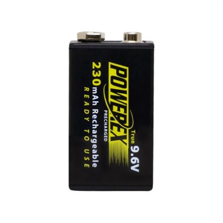 Maha Powerex Precharged 9.6V 230mAh (1-Pack) RS125028019