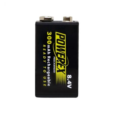 Maha Powerex - acumulator pre-incarcat, 8.4V, 300mAh, 1 bucata