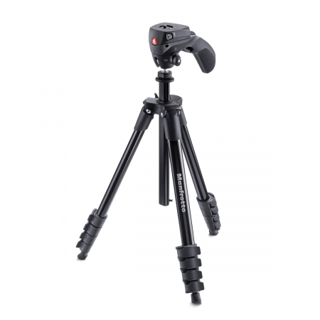 Manfrotto Compact Action Black - trepied foto