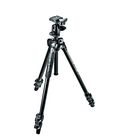 Manfrotto Light MK290LTA3-BH - kit trepied foto si cap bila