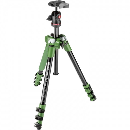 Manfrotto MKBFRA4G-BH Befree - kit trepied foto verde