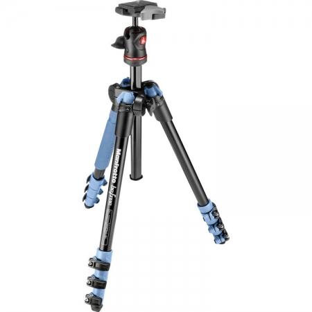 Manfrotto MKBFRA4L-BH Befree - kit trepied foto albastru