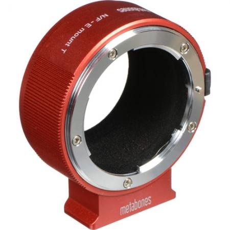 Metabones - Inel adaptor Nikon F la Sony E, Rosu