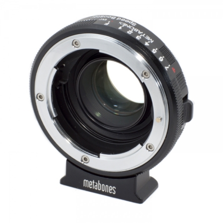 Metabones Nikon G-BMPCC Speed Booster - adaptor de la Nikon G la Micro 4/3 Blackmagic