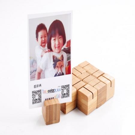 Micnova Bamboo Photo Cubes, 12 buc.