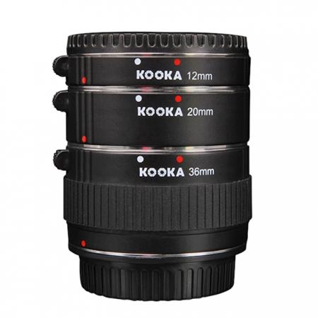Micnova KK-O68 set tuburi extensie (inele macro - 12mm, 20mm, 36mm) pentru Olympus