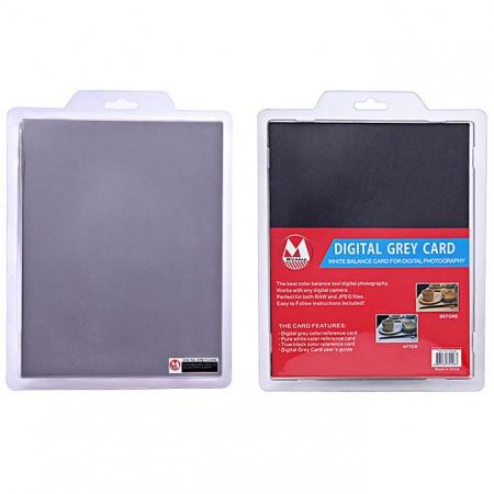 Micnova MQ-DGC-B Digital Grey Card 25.5cm—20cm