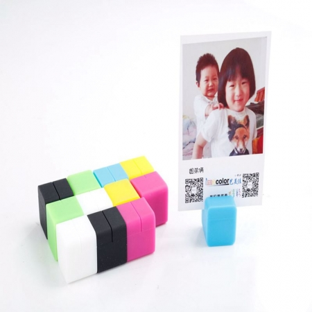Set Silicon cuburi suport fotografii - 12buc/set