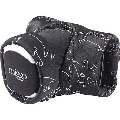 Miggo Grip and Wrap - Sistem prindere/ protectie pentru Aparate foto Mirrorless si Compacte, Space Zoo